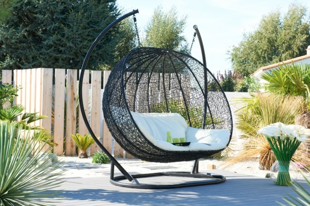fauteuil balancelle de jardin meilleures id es cr atives. Black Bedroom Furniture Sets. Home Design Ideas