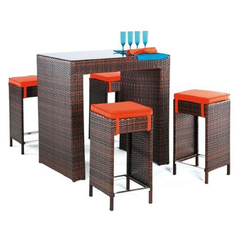 table, haute, en, résine, tressée, salon, canape, fauteuil ...